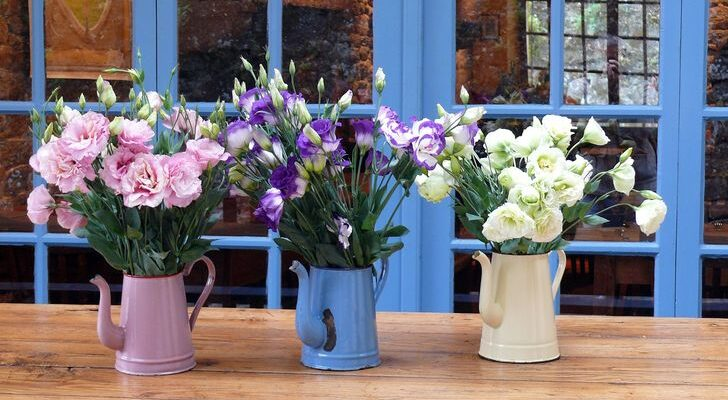 6 Ways to Decorate Home with Flowers